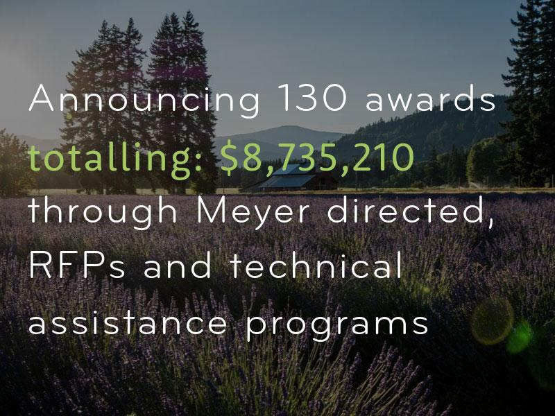 Meyer Grant Awards, Fall 2019