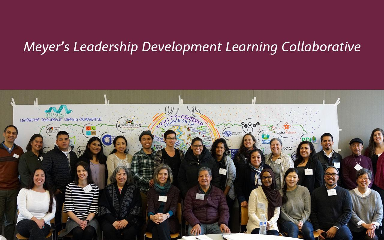 Participants in the Building Community portfolio's recently completed Nonprofit Sector Support Leadership Development Learning Collaborative.