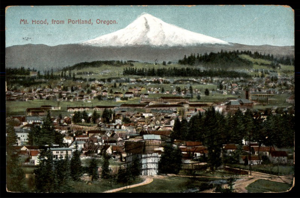 Picture of Portland in the early 1900s